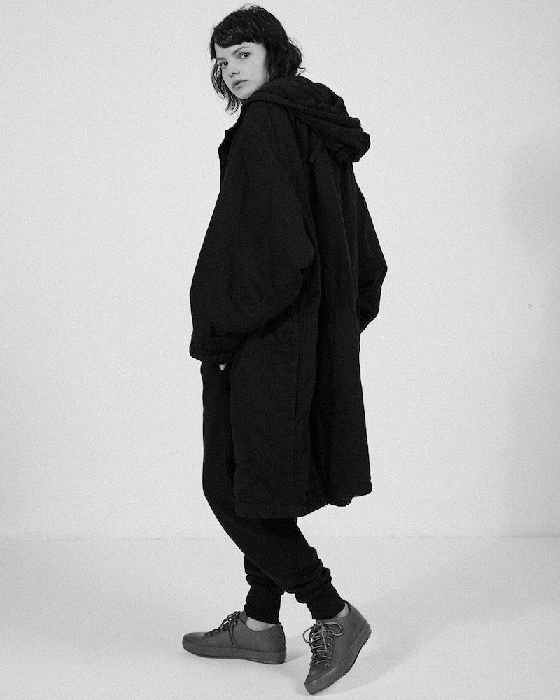 Katharine Hamnett x YMC Oversized Padded Parka Coat