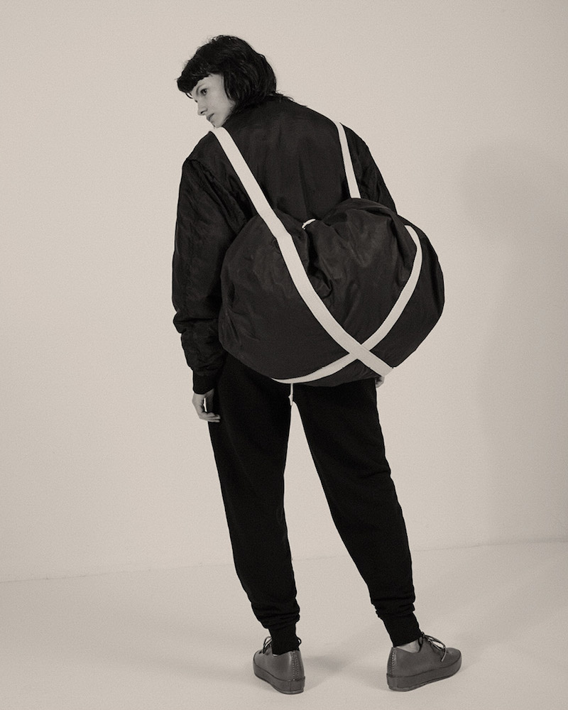 Katharine Hamnett x YMC Silk Padded Bomber Jacket