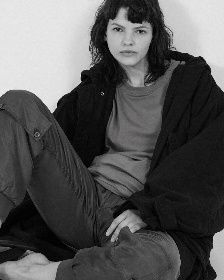 Katharine Hamnett x YMC Silk Padded Track Pants