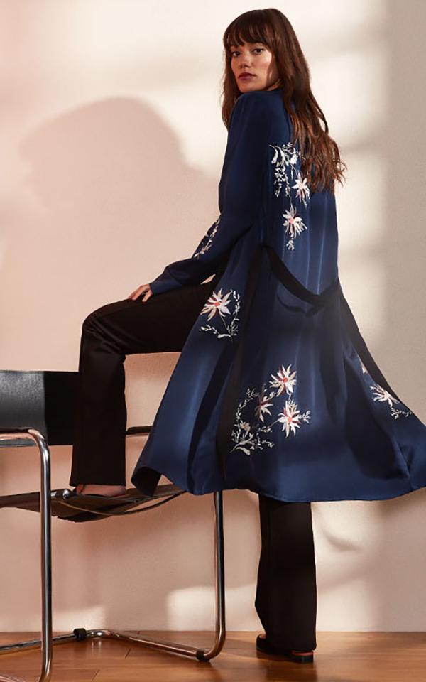 L'Academie x REVOLVE The Silk Robe