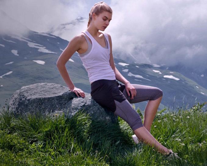 LNDR Scenic Shorts-Overlay Cropped Leggings