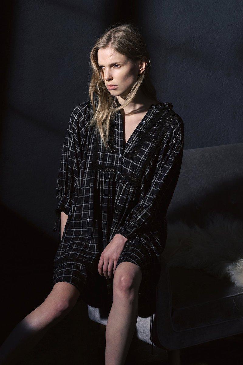 La Vie Rebecca Taylor Winter Plaid Dress