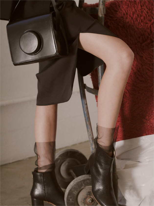 Lemaire Camera Bag in Black