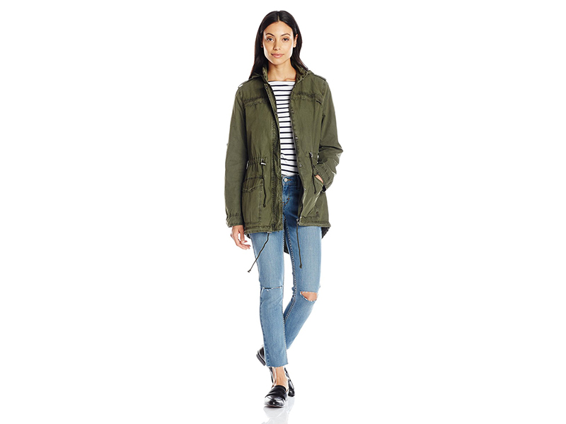 Levi's Cotton Lightweight Fishtail Anorak