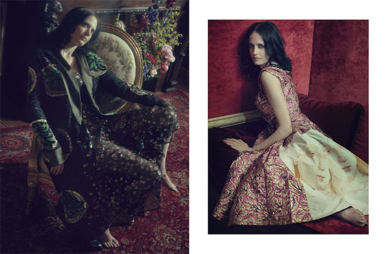 Life's Rich Tapestry: Eva Green for The EDIT