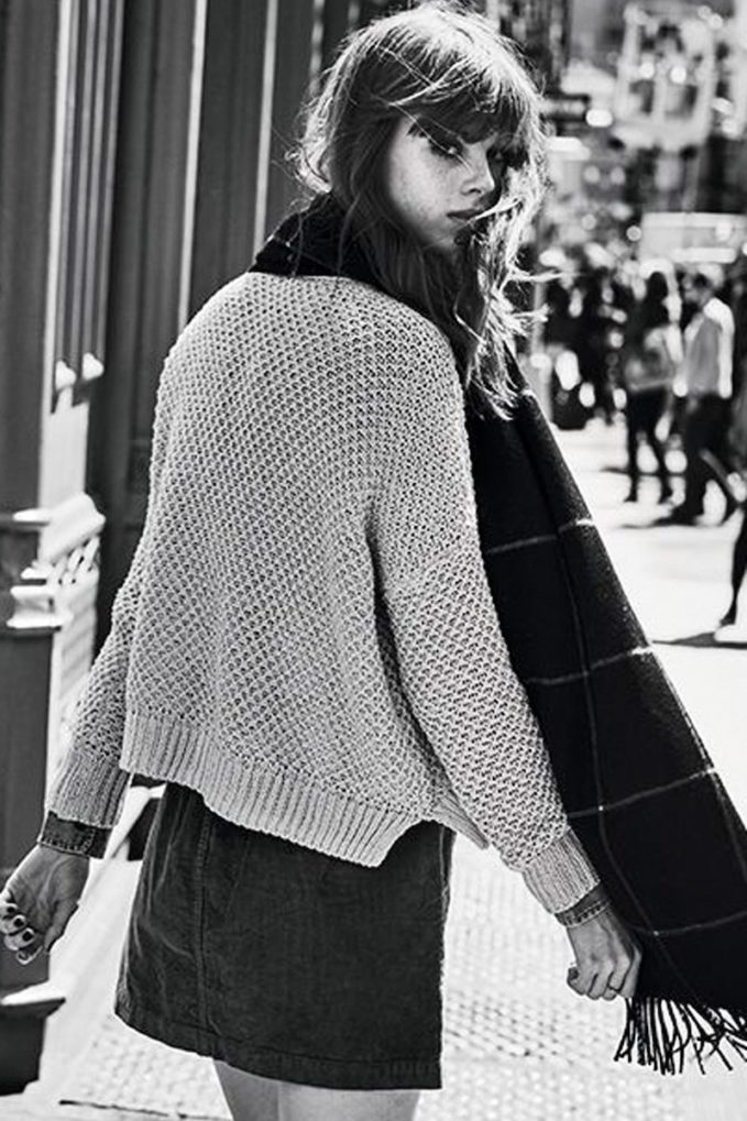 Madewell Thea Seed Stitch Pullover