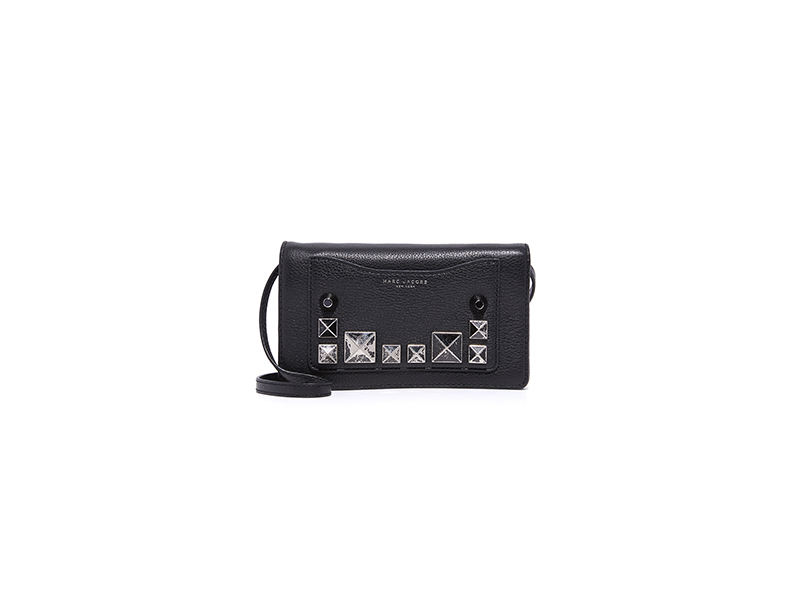 Marc Jacobs Recruit Chipped Stud Cross Body Wallet