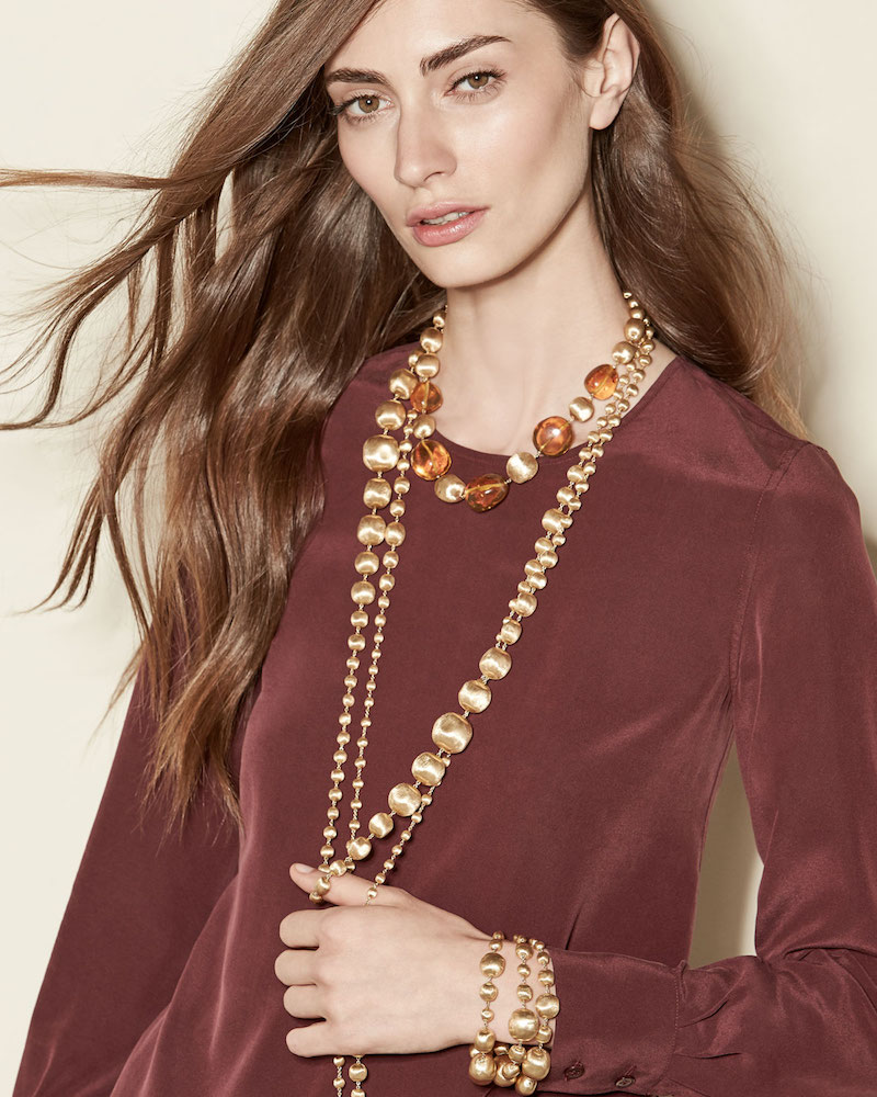 Marco Bicego 18K Gold Africa Necklace