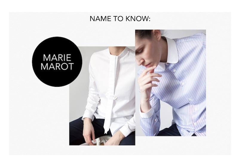 Marie Marot at Paris Fashion Week