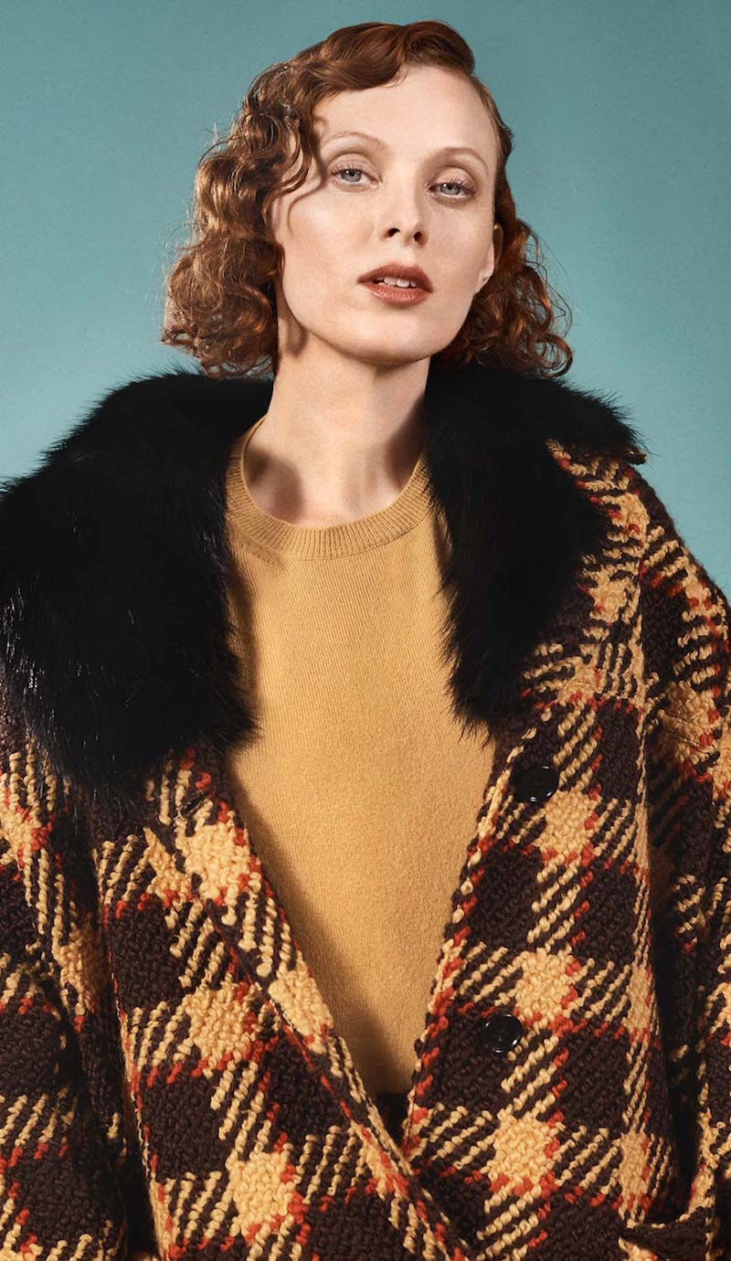 Marni Fur-trimmed Wool And Cotton Coat