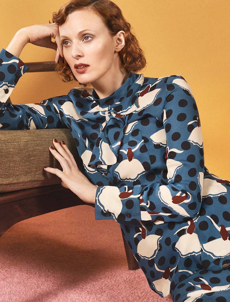 Marni Printed Silk Shirt
