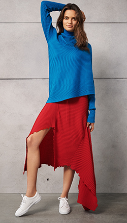 Marques Almeida Raw Edge Ribbed Sweater