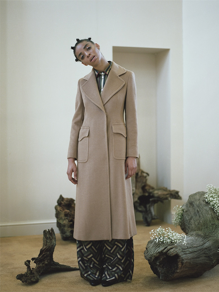 Max Mara Double-Breasted Camel Hair Coat