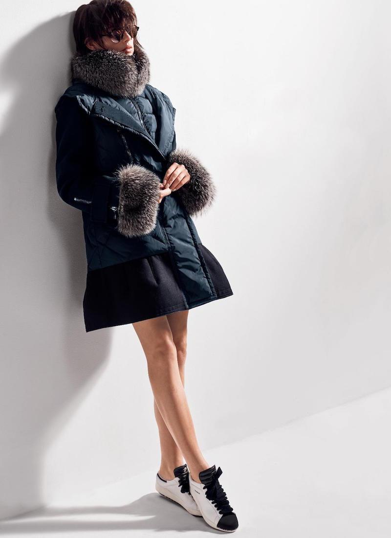 Moncler Elestoria Fur Trimmed Jacket & Vest