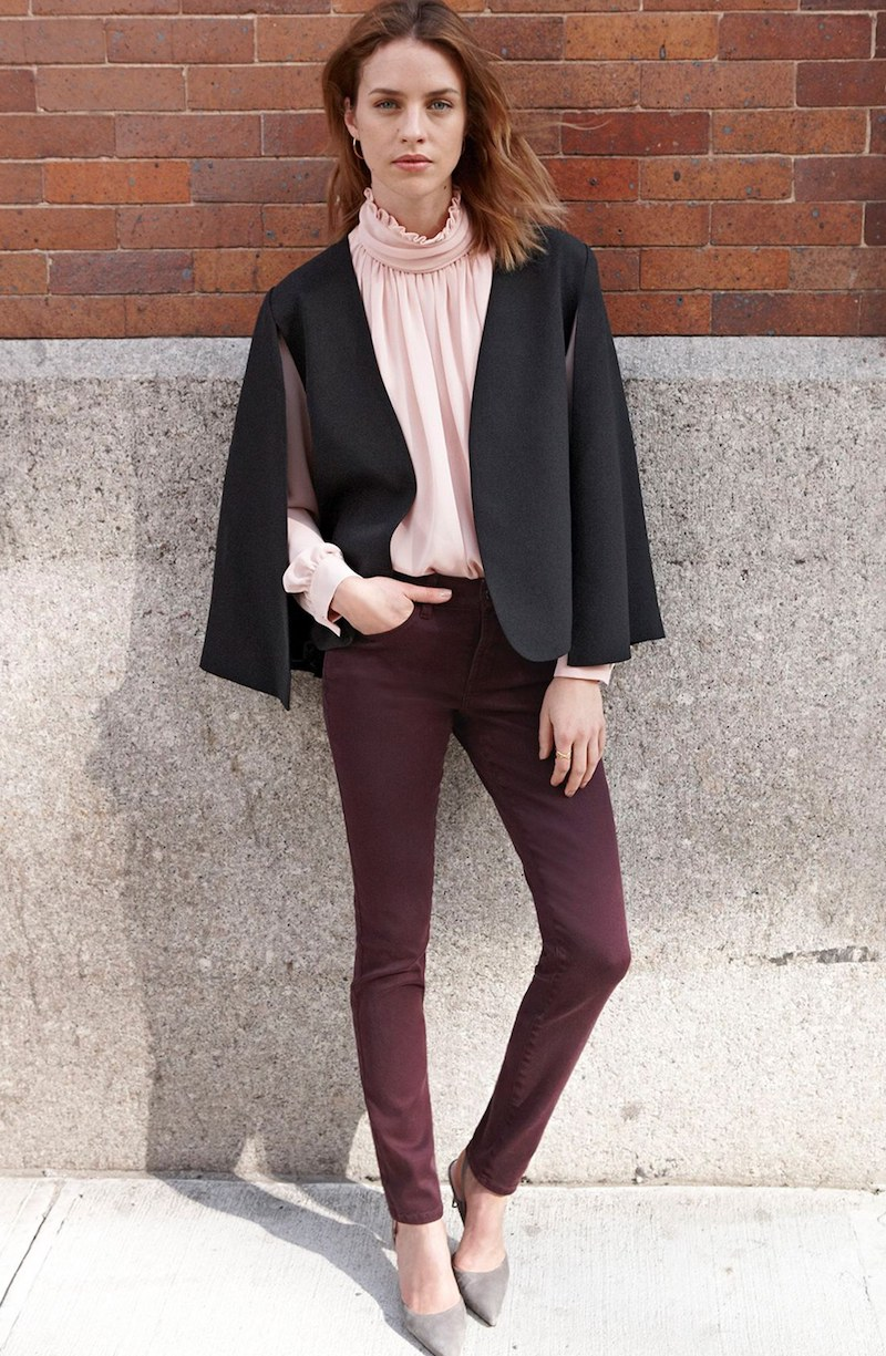 NYDJ Ami Colored Stretch Super Skinny Jeans