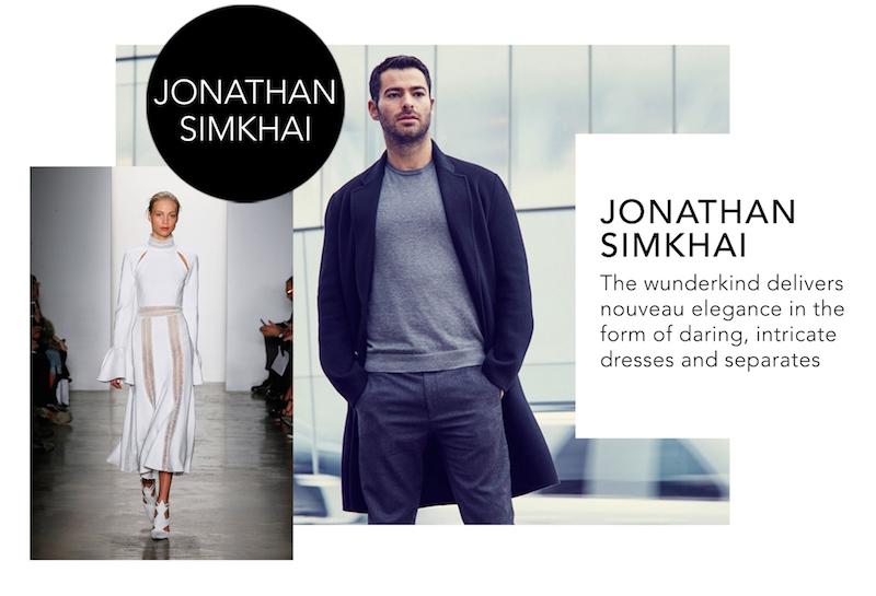 NYFW Designers Jonathan Simkhai