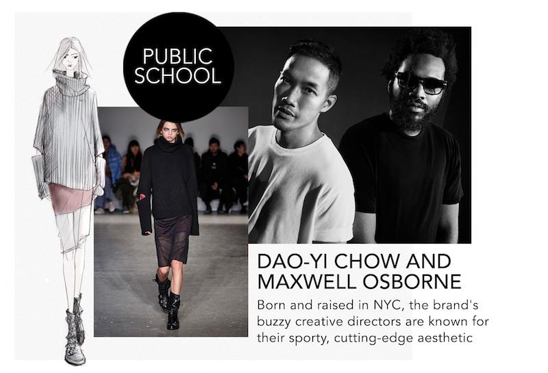 NYFW Designers Public School