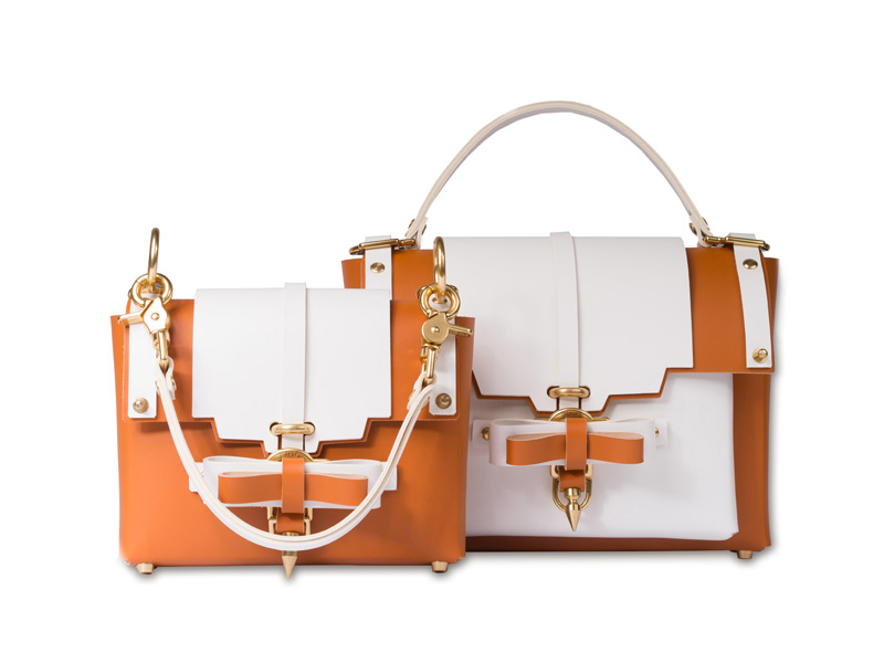 Niels Peeraer Bow Buckle Leather Bags
