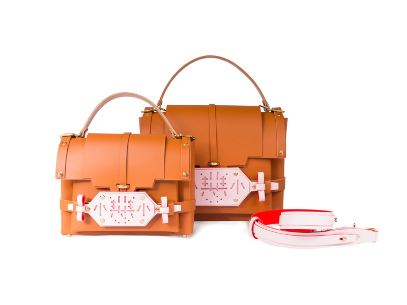 Niels Peeraer Little Evil Leather Bags
