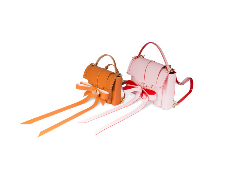 Niels Peeraer Ribbon Leather Bags