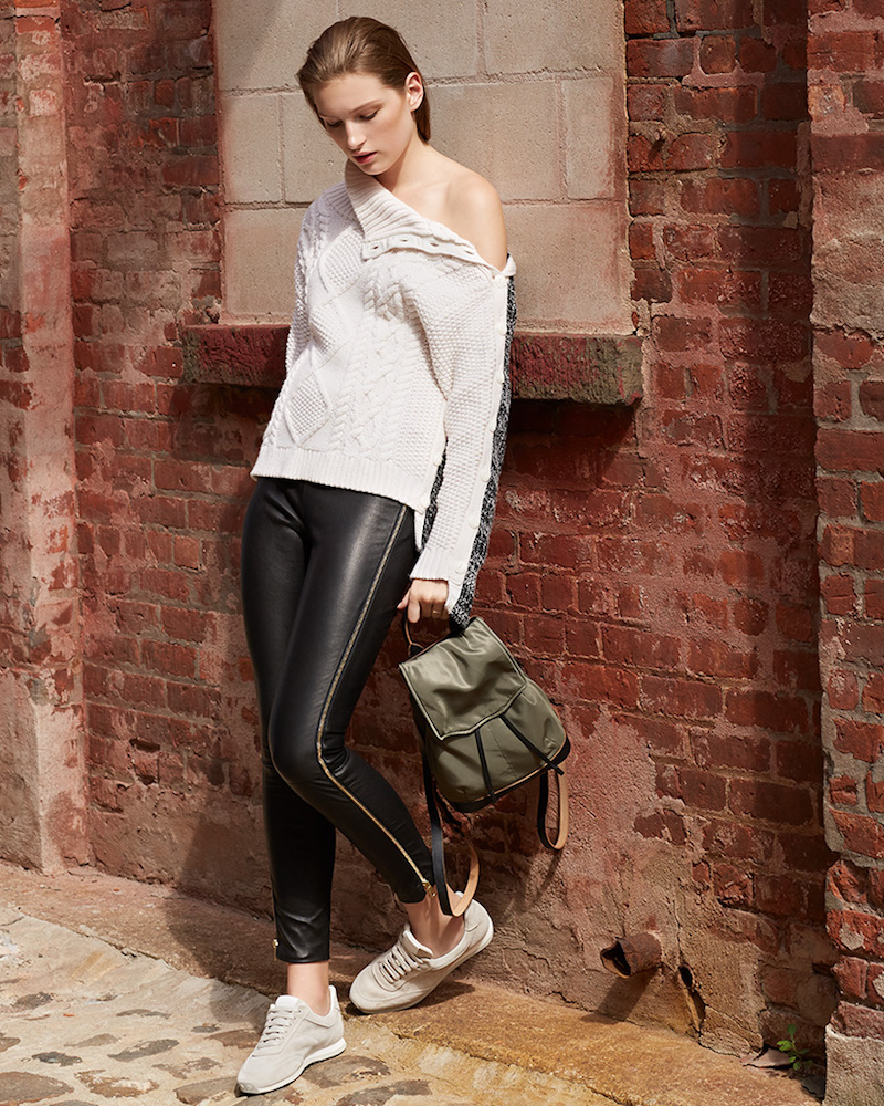 Rag & Bone Chatel Leather Pants