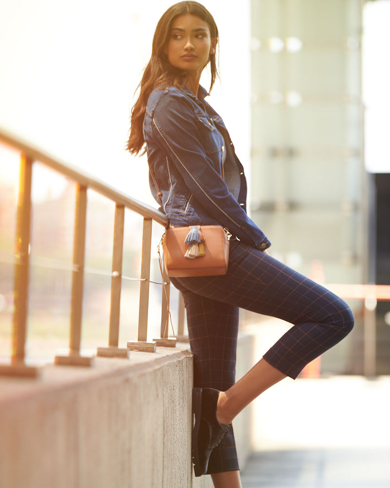Rebecca Minkoff Sofia Leather Tassel Crossbody Bag