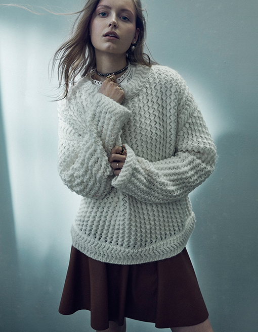 Rebecca Taylor Oversized Knit Pullover