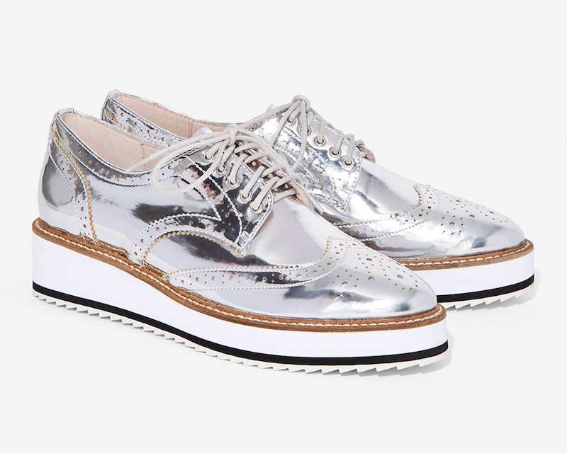 Shellys London Emma Metallic Oxford