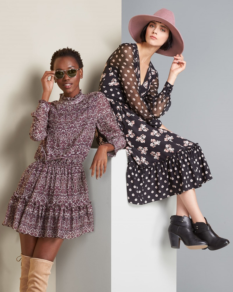 shoshanna-long-sleeve-printed-silk-dress