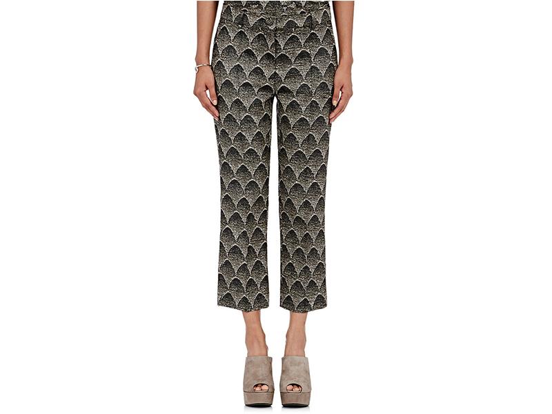Sies Marjan Mountain Jacquard Crop Trousers