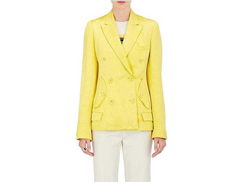 Sies Marjan Silk Double Breasted Jacket