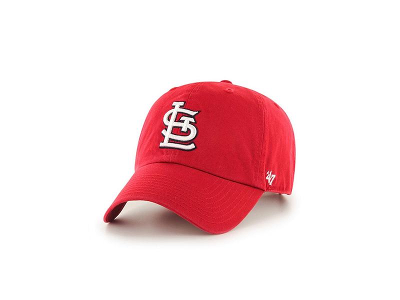 St. Louis Cardinals 47 Brand Clean Up Adjustable Hat
