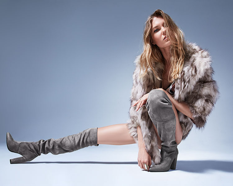 Steve Madden Emotions Over-the-Knee Boot in Taupe
