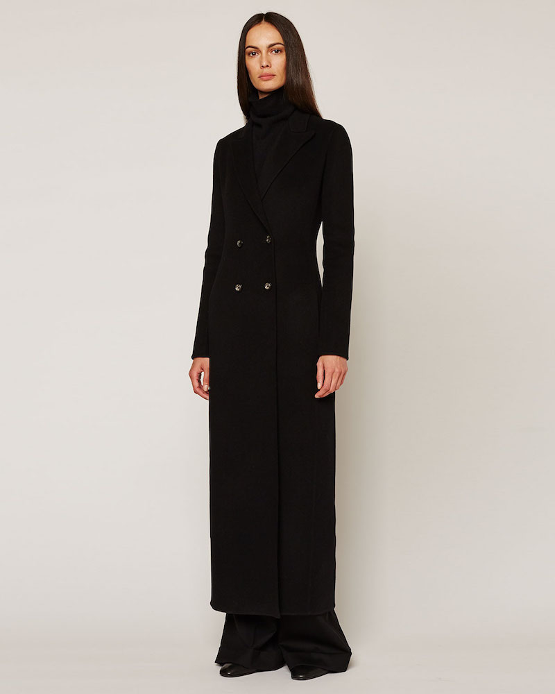 THE ROW Heiden Long Wool Coat