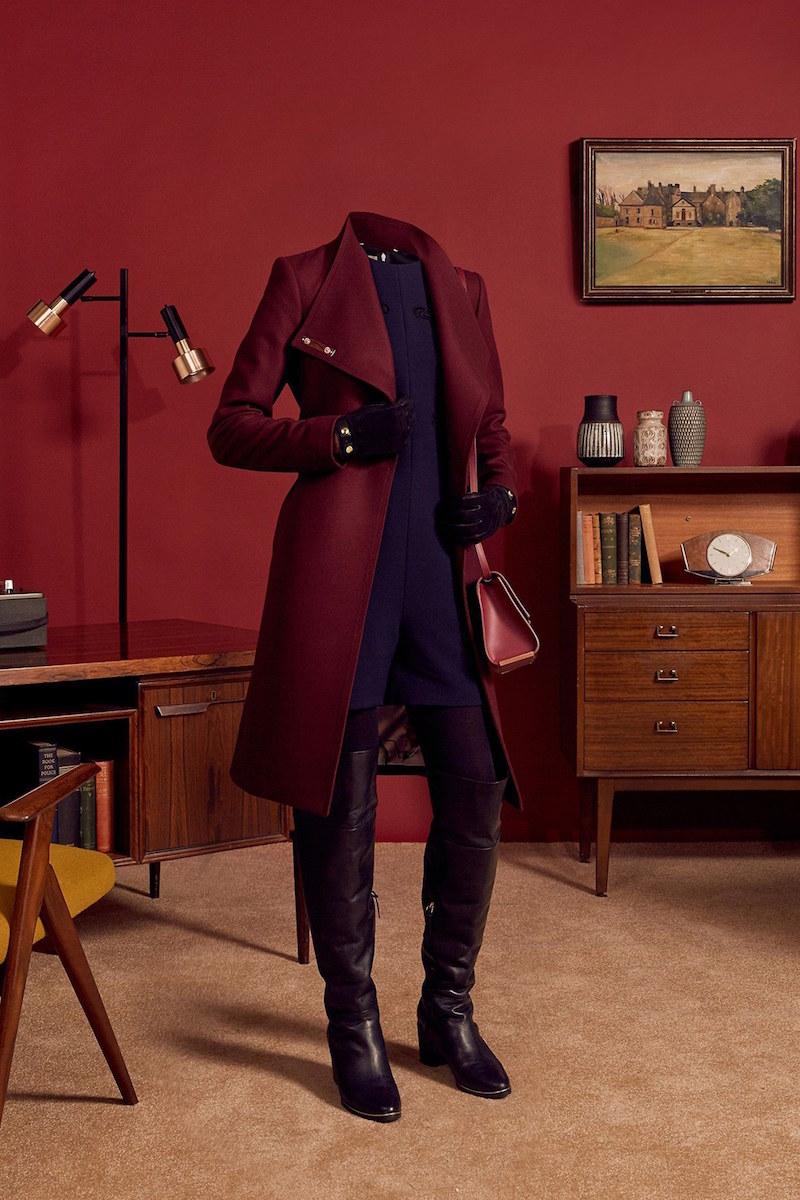 Ted Baker London Wrap Coat