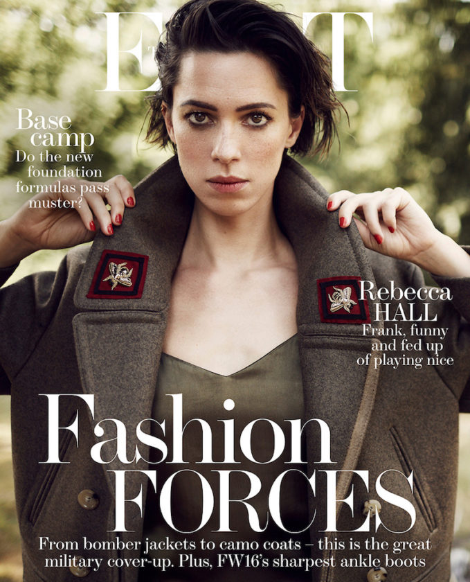 The Good Fight: Rebecca Hall for The EDIT