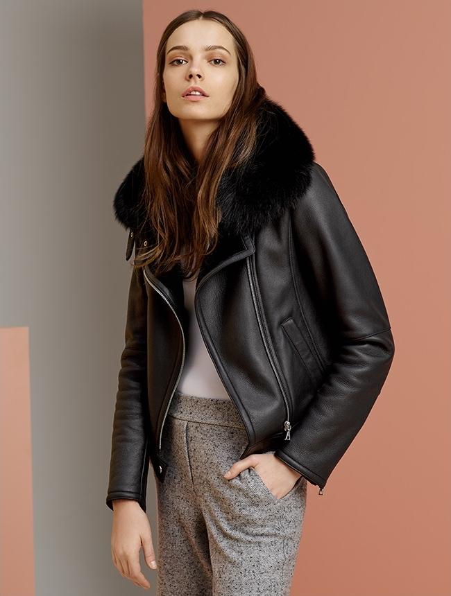 Theory Pomono Leather Jacket