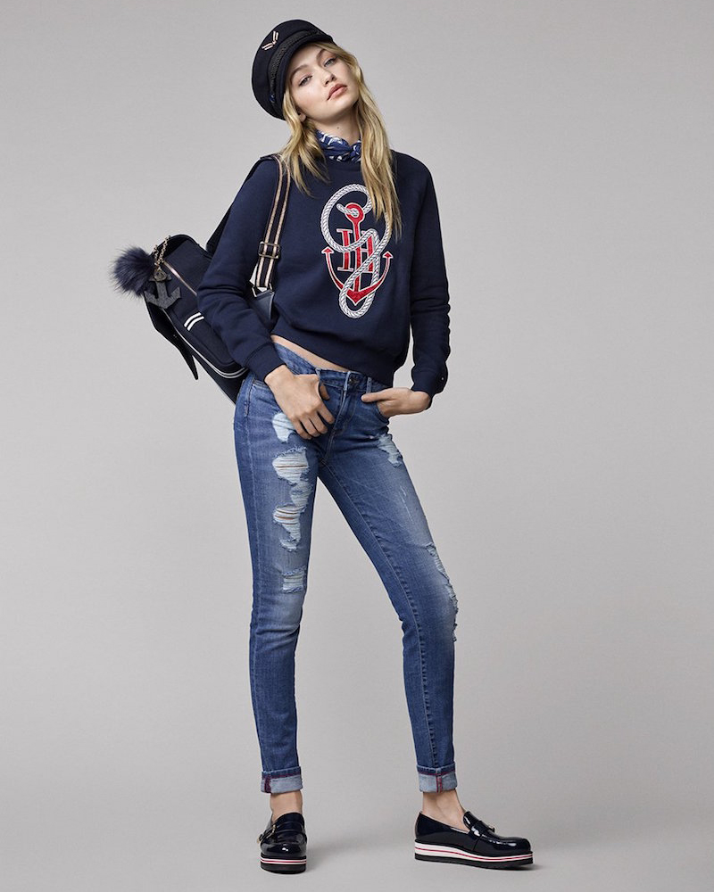 Tommy Hilfiger Gigi for Hilfiger Anchor Sweater