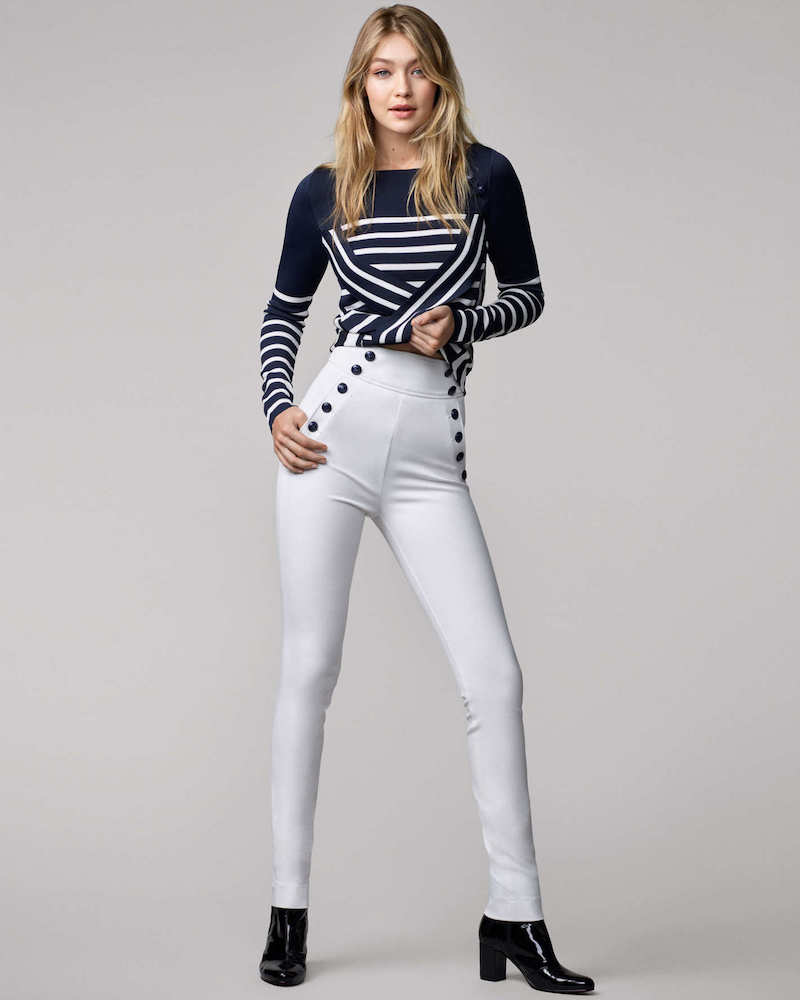 Tommy Hilfiger Gigi for Hilfiger Striped Sweater