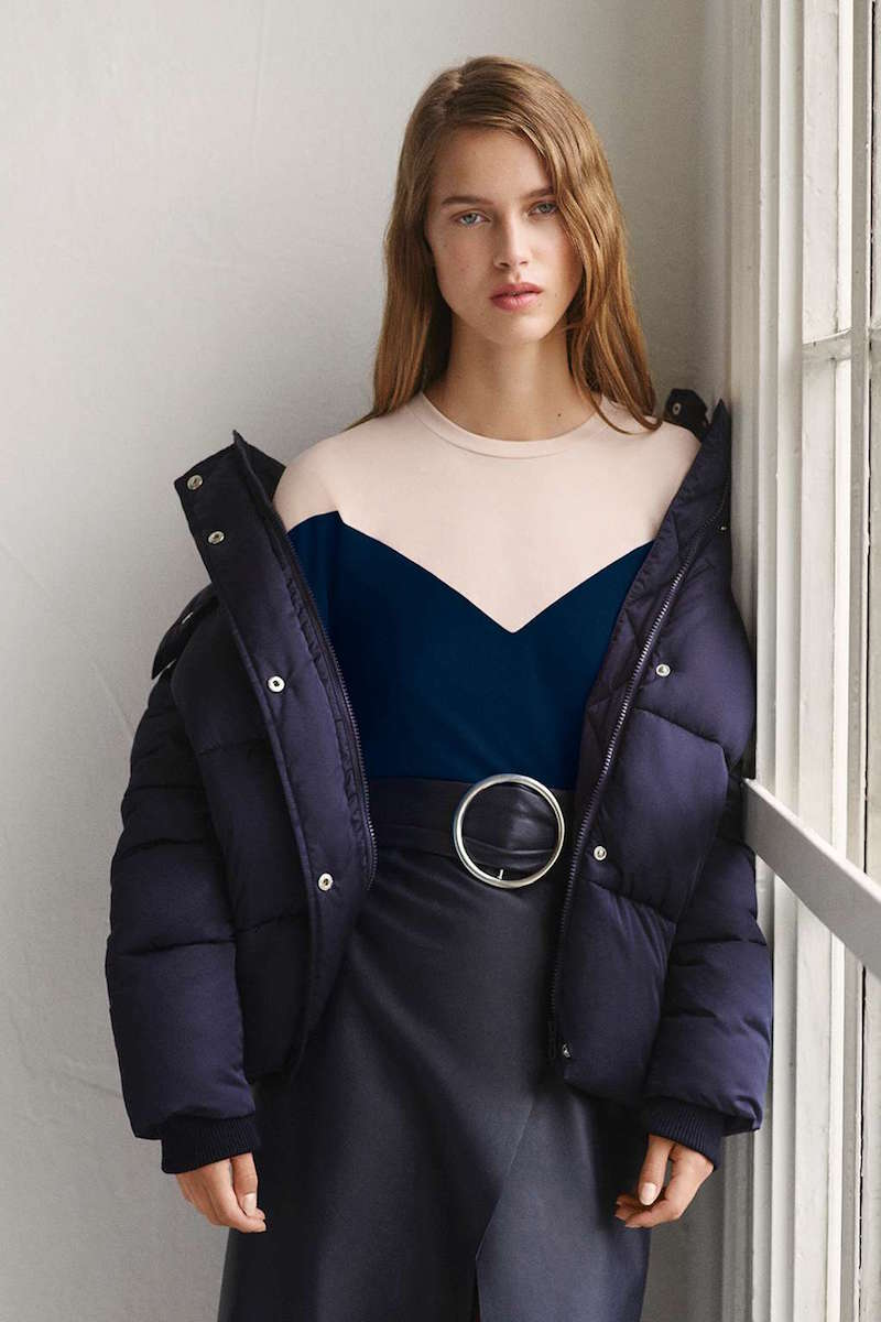 Topshop Boutique The Puffball Puffer Jacket
