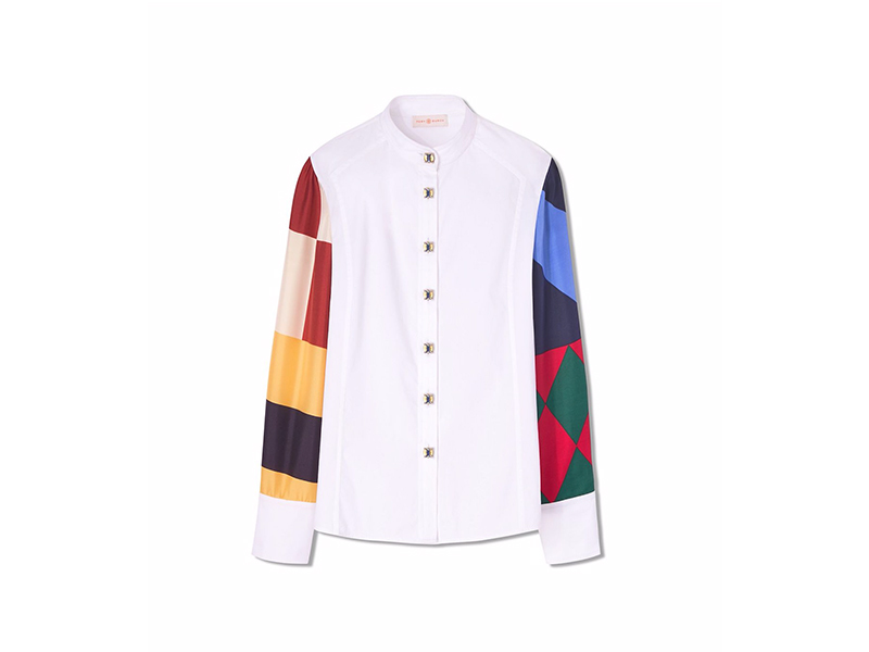 Tory Burch Caballo Riding Shirt