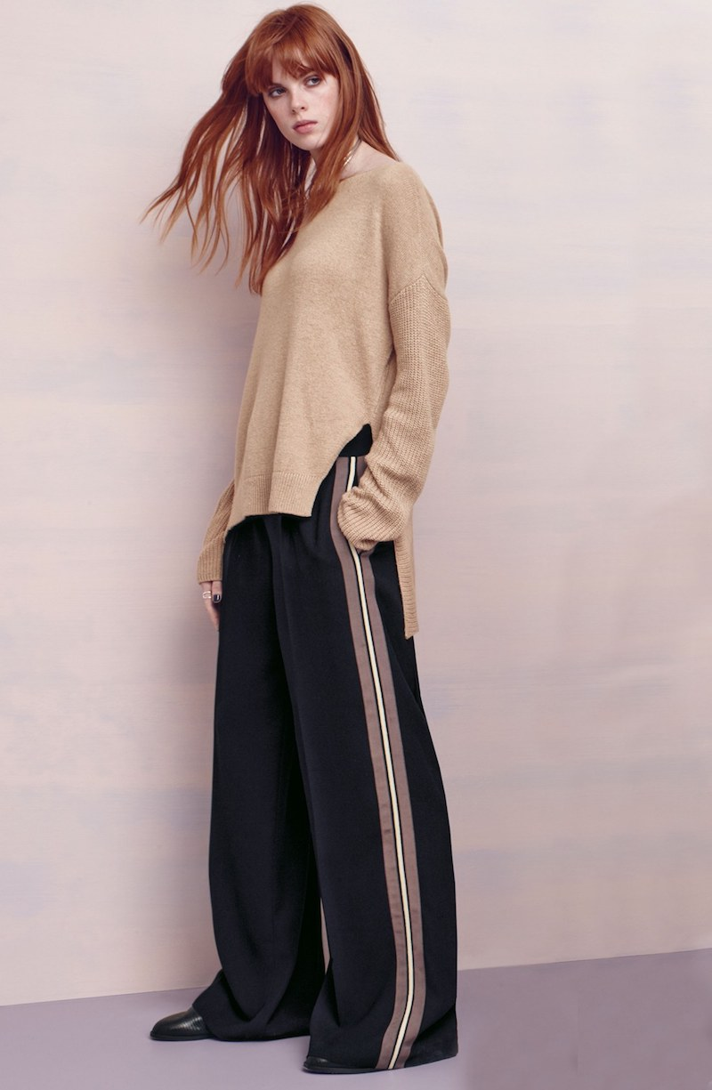 Trouvé Side Stripe Wide Leg Pants