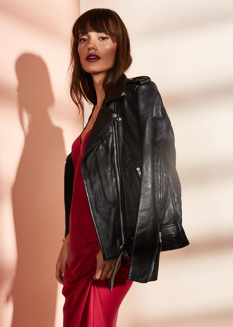 Understated Leather x REVOLVE Easy Rider Moto Jacket