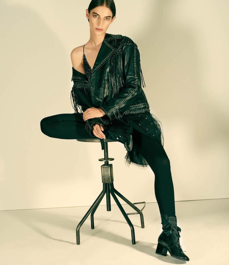 Valentino Embellished Tulle Minidress