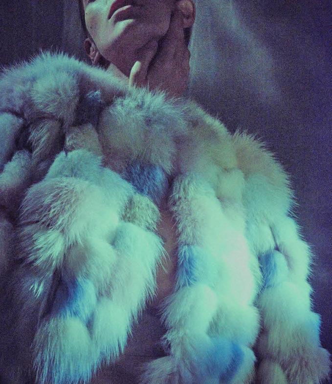 Valentino Fox Fur Bolero