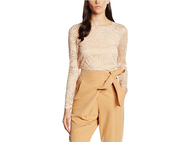 Vero Moda Celeb Long Sleeve Lace Top