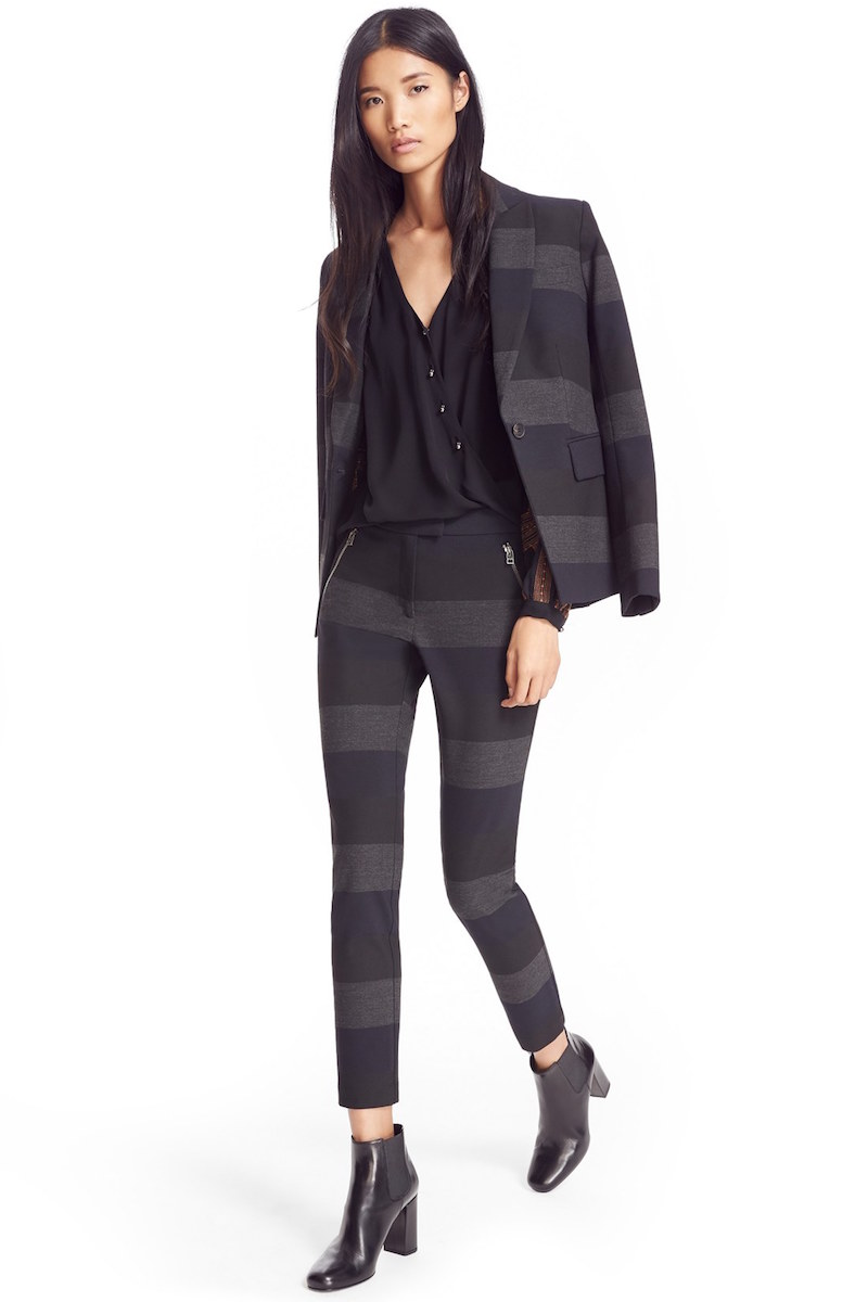 Veronica Beard Kanae Khan Stripe Blazer