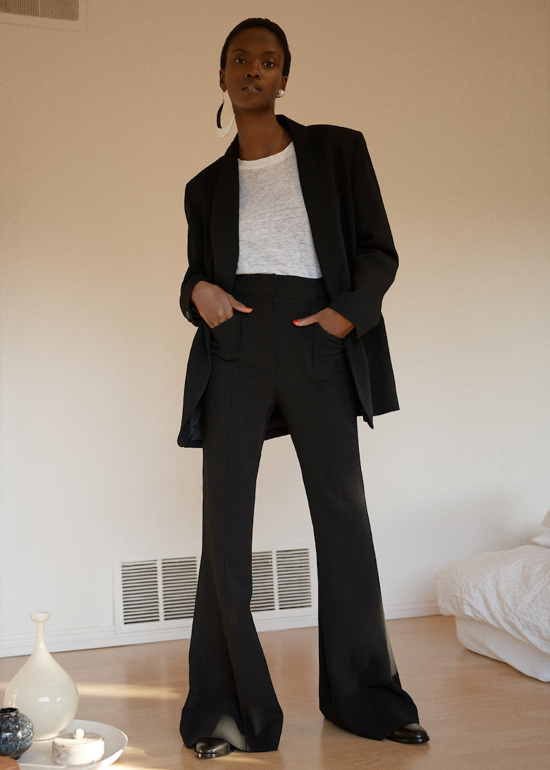 Victoria Beckham Tailored Tux Jacket