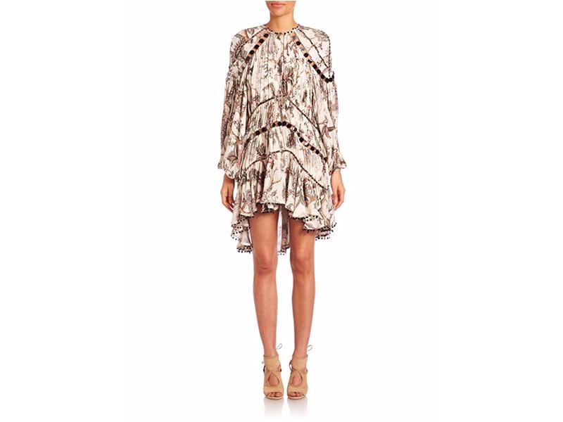 Zimmermann Karmic Aura Mirror Silk Mini Dress