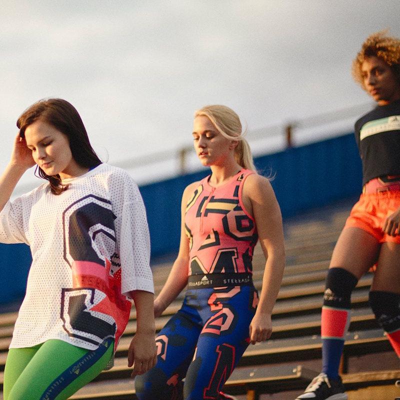 adidas StellaSport Fall 2016 Campaign by Luke Gilford 2